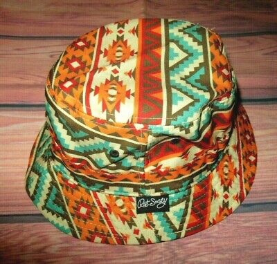 huge discount 6b258 168f2 Mens Riot Society Western Tribal Bucket Hat One Size