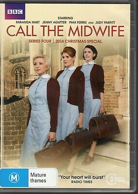 CALL THE MIDWIFE - DVD R4 (2015) 3-Disc Set BBC Series Four+Xmas Special AS NEW