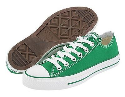 CONVERSE CHUCK TAYLOR Low Tops Green OX Womens Sneakers