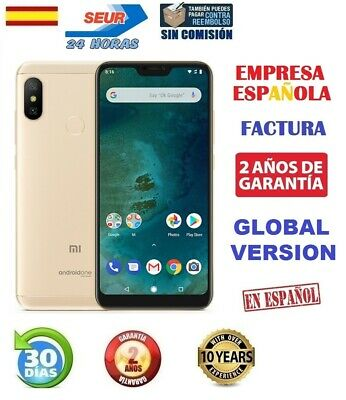 Xiaomi Mi A2 Lite 64GB 4GB Dorado Global Version Precintado + Funda Factura 24H