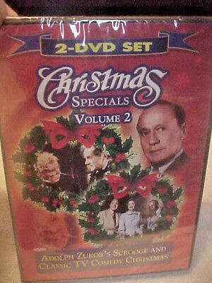 Christmas Specials, Adolph Zukor's Scrooge & Classic TV Comedy Christmas  NEW