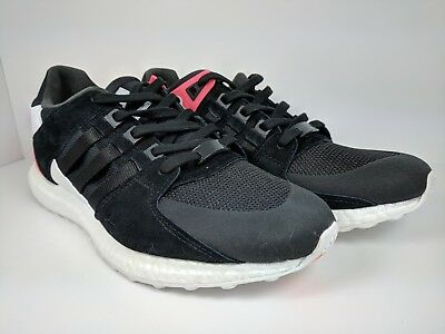get cheap d381f b0869 ADIDAS EQT EQUIPMENT Support Ultra Boost Core Black Turbo Red (BB1237) size  10