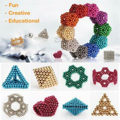 216Pcs 3mm 5mm Magic Magnetic DIY Balls 3D Magnet ball Neodymium Beads Cube