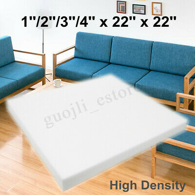 22''x22'' High Density Seat Foam Rubber Cushion Replacement Upholstery Firm