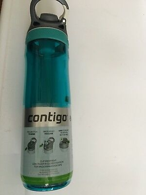 Water Bottle Contigo Autospout Ashland Water Bottle, 24 oz , Scuba 24 oz.