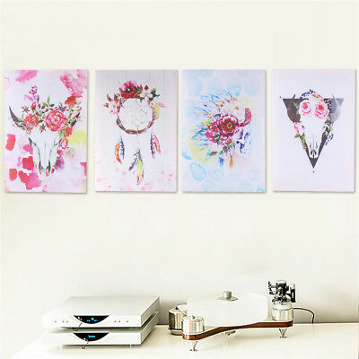 45x30cm Frame Art Flower Canvas Print Painting Picture Home Room Wall Decor New