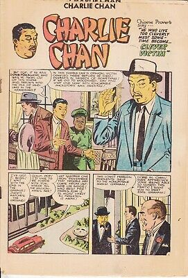 Charlie Chan    Charlton Comics  No Other Details   Coverless