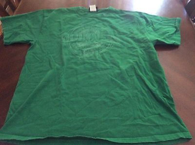 Green Mens Guinness Tshirt size L Beer