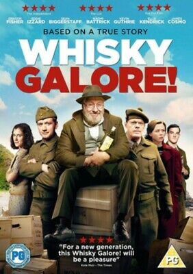 Whisky Galore (DVD, 2017) *NEW/SEALED* 5027035017235, FREE P&P