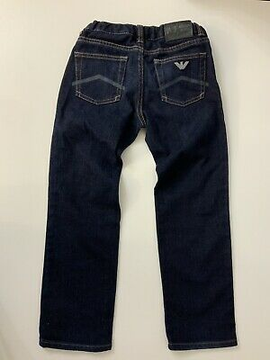 Armani Junior Aj Jeans Size 118 Cm Age 6 Years Skinny Stretch