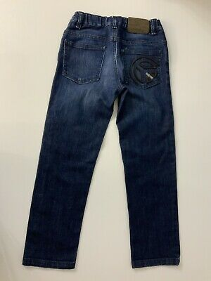moschino Kids Straight Leg Boys Jeans Age 6 Years Size 116 Cm VGC