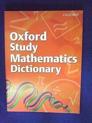 KS2 Oxford Study Mathematics Dictionary Learning Maths Workbook Ages 12+Year New