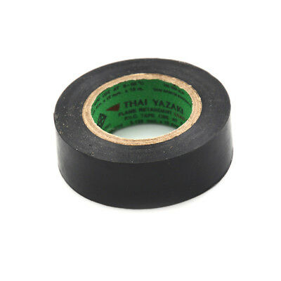 PVC electrical tape flame retardant insulation tape 20M Length 10mm Wide Blac GS