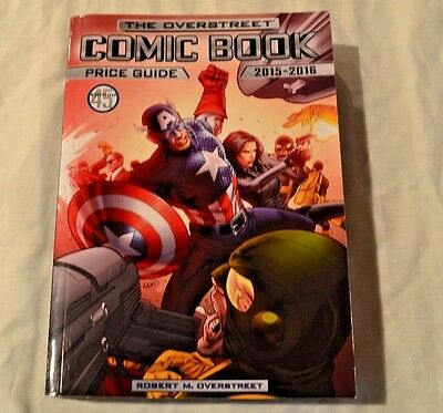 THe Overstreet Comic Book Price Guide 2015-16 Vol 45!!!