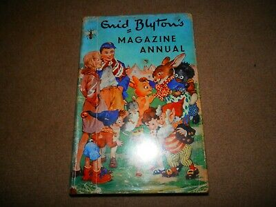 Enid Blyton Magazine Annual Number 1 Evans Brothers 1954 1st edition