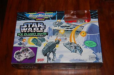 Ice Planet Hoth Micro Machines Playset-Star Wars Empire Strikes Back-AT AT