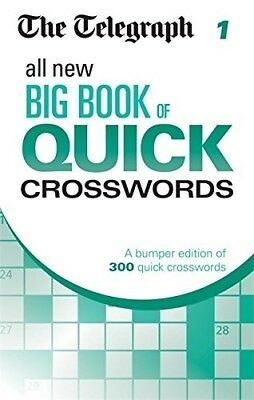 New, The Telegraph All New Big Book of Quick Crosswords 1 (The Telegraph Puzzle