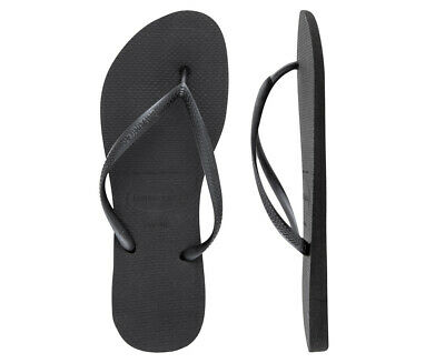 Havaianas Slim Thongs - Black