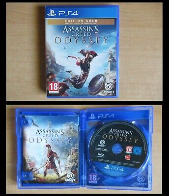 Assassin's creed Odyssey - Édition Gold Ps4