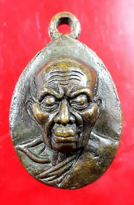 LP Tim Amulet Wat Lahanrai Thai Buddha Best For Lucky Pendant, Real From Temple