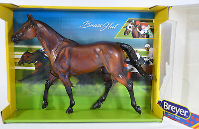 Breyerfest 2018 Brass Hat Thoroughbred Celebration Model Kentucky 711281 Breyer