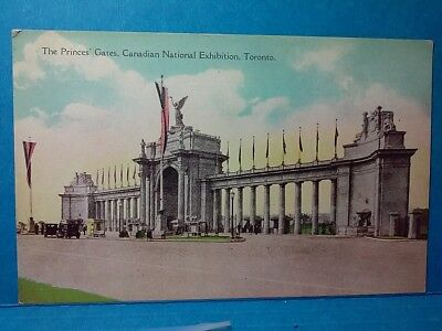 The Princes' Gates-Canadian Nat'l Exhibition, Toronto-Vintage Post Card (R5525)