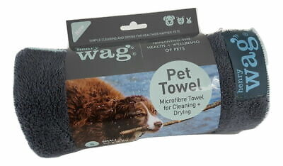Henry Wag Microfibre Pet Drying Towel - Small & Large