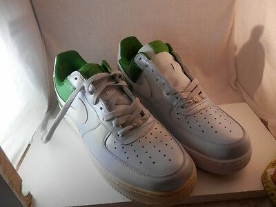 Details about NIKE Air Force 1 AF1 82' Low Top Men's ~ 488298 009 Wolf GreyGreen Sz 14