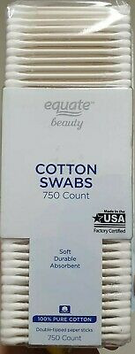 Equate Beauty Cotton Swabs, 750 Count