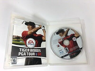 Tiger Woods PGA Tour 08 (Sony PlayStation 3, 2007) PS3 - Complete w/ Manual