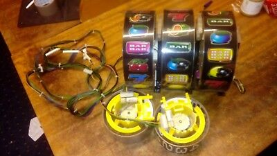 Bfm Bellfruit Set Of 5 Reels From Deal Or No Deal With Harness And Mounting