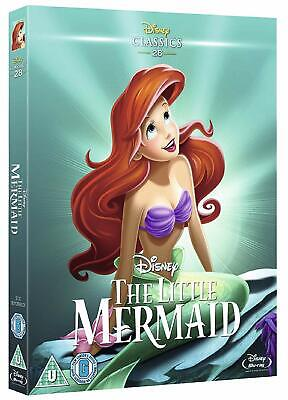 The Little Mermaid w/ Slipcover (Blu-ray, Disney, Region Free) *NEW/SEALED*