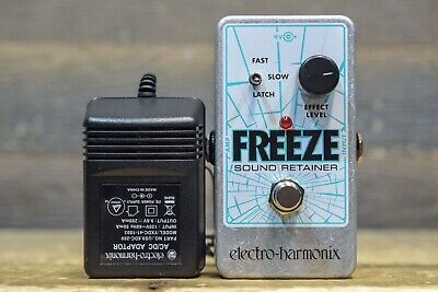 Electro-Harmonix Freeze Sound Retainer Electric Guitar Sustain Effect Pedal