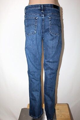 1374417c NOS NEW W/TAGS Women's Lee Original Relaxed Fit Tapered Leg Jeans (T ...