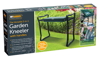3-in-1 Garden Kneeler Seat with handles without bag