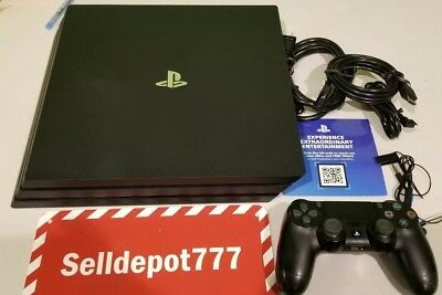Sony PlayStation Pro 4 1TB Jet Black Console with 4 games Bundle