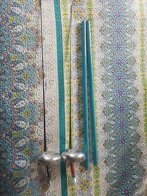 TWO complete Youth Fencing Y10 Epeé Competition Ready swords, with travel covers