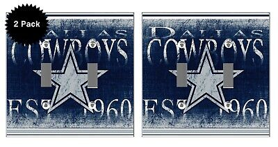 Dallas Cowboys Outlet and Light Switch Covers