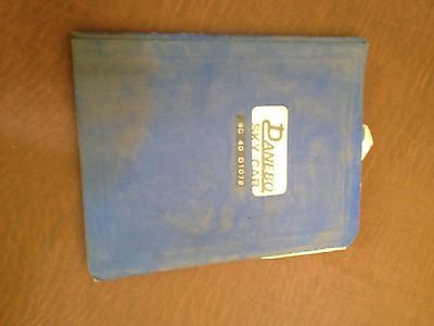 Danebo Sky Car Sc-40 Operators Operation Guide Owners  Reference Book Manual