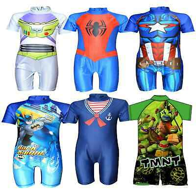 Kids Swimsuit Surf Suit Swimming Costume Childrens Character Swimwear Age 1-5 Yr