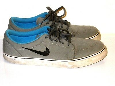 38ea0b117f1e Nike SB Clutch Skate Sneakers Shoes Low Tops Gray Blue Black Mens Size 11