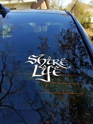 """Shire Life"" vinyl decal *The Hobbit* Lord of the Rings*"