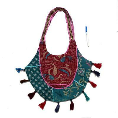 Vintage Tribal Banjara Indian Handmade Ethnic Multicolor Tibetan Fancy Bag