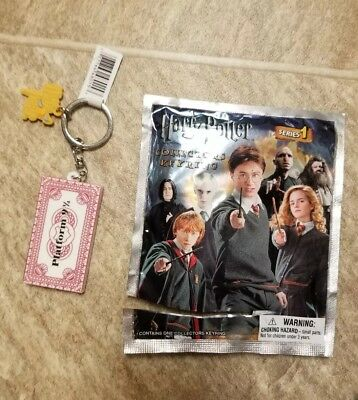 Harry Potter Collectors Figural Keyring Series 1 Hogwarts Train Ticket