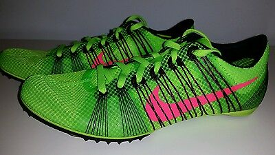 quality design d1475 ae1b3 Nike Zoom Victory 2 Track and field Spikes Men s US 11.5 Electric Green NEW