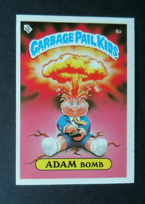 Topps Garbage Pail Kids Uk (Ireland) 1985 Series 1 Sticker 8A Cheaters Licence