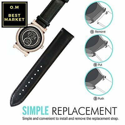 9b825447ea4b LAMSHAW QUICK RELEASE Smartwatch Band for Michael Kors Access Sofie ...