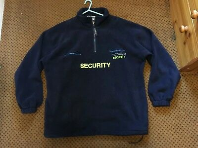 Security / Door Supervisor Fleece Jacket (XL) Uniform - Costume - Prop