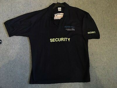 Security (Door Supervisor) Polo Shirt (XL) Uniform - Costume - Prop