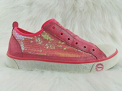 c667a2b53f2 NEW NIB UGG Laela Sparkles Sequined & Leather Sparkly Sneakers Pink ...